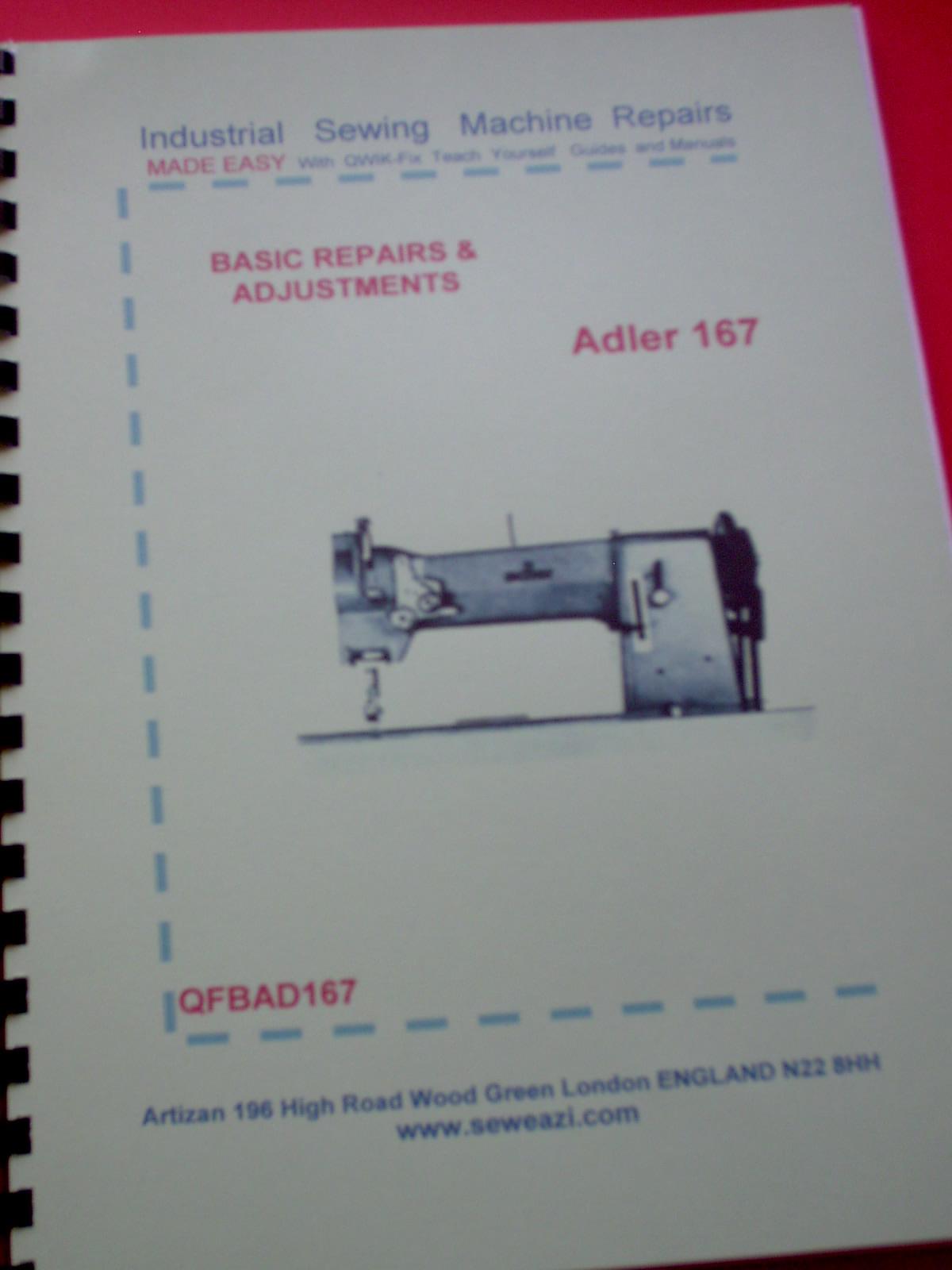 adler sewing machine manual